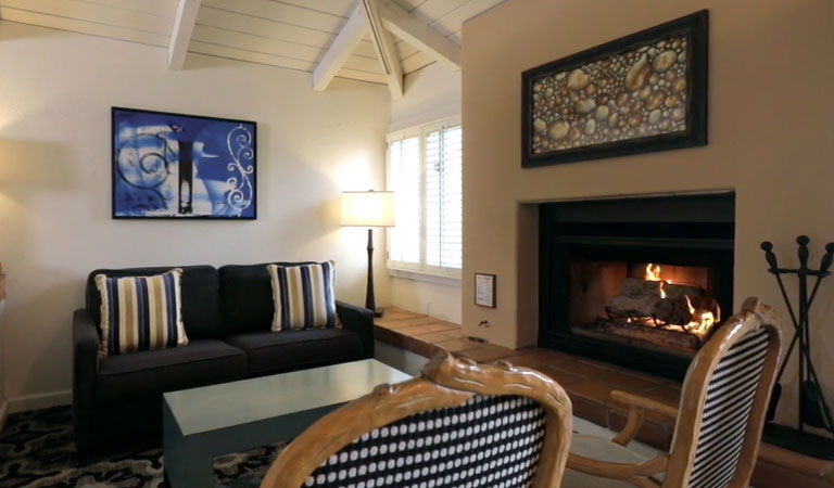 Premier Suite 2 Doubles at Hotel Pacific Street Monterey California
